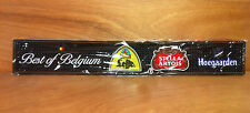 Stella Artois Leffe Hoegaarden Bar Rail Mat Beer Best Of Belgium ~ NEW & F/Shipn