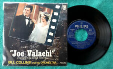 """BILL COLLINS AND HIS ORCHESTRA / JOE VALACHI (or: soundtrack) - 7"""" (Italy 1972)"""