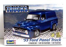 1955 Ford Panel Truck Revell 85-4337 1/24 New Classic Truck Plastic Model Kit