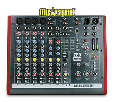 Allen and Heath A&H ZED10FX Compact PA Mixer w/FX ZED10 FX ZED-10FX Zed 10 FX