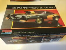 Monogram 1/24 2739 Mean&Nasty Pro/Street Camaro Vintage Model Car Kit