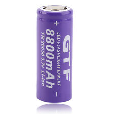 1pc 3.7V 26650 8800mAh Li-ion Rechargeable Battery For LED Flashlight Torch HR