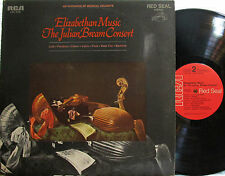 Julian Bream  Consort - Elizabethan Music  (RCA Red Seal LSC 3195) ('63)