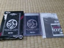 Neo Geo Memory Card NEO-IC8 SNK Neo Geo AES Tested Work 101