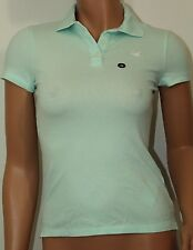 Hollister Women´s Polo Shirt Iconic Sz XSmall Color Light Blue NWT