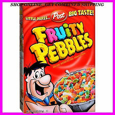 Post Fruity Pebbles Sweetened Rice Cereal 11 0z. Exp. NEW & FRESH