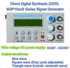 8MHz DDS function signal generator, frequency meter, square wave pulse test