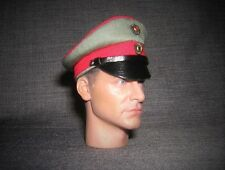 DID Dragon In Dreams 1/6th Scale WW1 German Visor Cap With Strap - Max