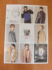 TEEN TOP - Red Point (Chic Ver.) [OFFICIAL] POSTER K-POP *NEW*