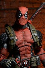 DEADPOOL 1/4 scale figure~statue~X-Men~Wade Wilson~movie~NECA~Reel Toys~NIB