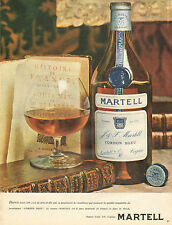 Publicité Advertising 1962  Cognac MARTELL  cordon bleu