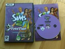 Les sims 2 freetime expansion pack pc cd rom/windows