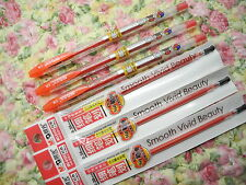 3 pens + 5 refill Miffy 0.38mm ultra fine roller ball pen with cap Red(MChina)