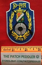Unknown Rifle Patch Says 1879 2 Guns Shield With T & Maybe P-hH / P-hA ? #3T