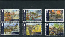 Tristan da Cunha 2014 MNH Royal Marines 350th Anniv 6v Set Normandy Invasion