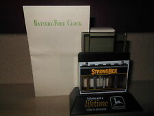 Vintage 1990's John Deere StrongBox Battery - Free Clock MIP Mint In Package