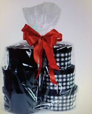 5 CLEAR CELLO LARGE GIFT BASKET BAGS 20X30 (For Crisp Clear Baskets)