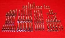 Yamaha YFM350 Warrior Polished Stainless Engine Allen Bolt Kit