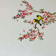 New Sale Removable Beautiful Flower Tree Birds Wall Sticker Vinyl Home Decor Art