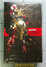 Ready! Hot Toys Sideshow Marvel Iron man 3 Mark XVII 17 Heartbreaker 1/6 Figure
