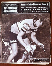 Miroir des Sports 25/4/1960; Monaco-Saint-Etienne/ Pierre EveraertGuy Bonuface