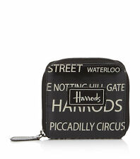 HARRODS STREETS OF LONDON  DESIGN CARD AND COIN PURSE WALLET - GREAT GIFT
