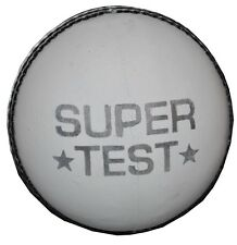 White Leather Super Test Cricket Match Ball