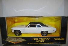 "1:18 ERTL  - ""American Muscle"" 1970  Chevy Nova - White"