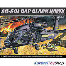 Academy 12115 1/35 Plastic Model Kit AH-60L DAP BLACK HAWK Helicopter