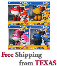 Super wings Transforming Toy 4pc Set ( Hogi, Jerome, Ari, Donnie )  / USA SELLER