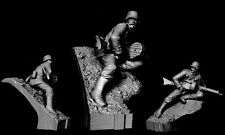 Model Cellar WW1 Defending the Position (2) 75mm Unpntd figure CARL REID