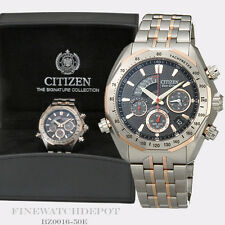 Authentic Citizen Eco-Drive Men's Signature Grand Complication Watch BZ0016-50E