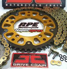 KTM 250 EGC '96-04 Enduro SUPERSPROX 520 JT OEM GOLD HDS CHAIN & SPROCKETS KIT