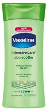 Vaseline Intensive Care Aloe Soothe Non-Greasy Lotion 10 oz (Pack of 6)