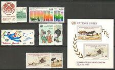 UN-Geneva #129-139, 1985 Annual Set, Unused NH