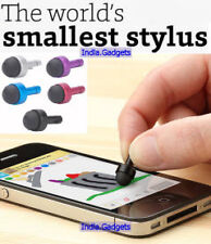 World's Smallest Stylus: 3.5mm Jack Anti-Dust Plug iPhone iPad Android Mobile