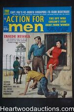 """Action for Men"" November 1960 Rudy Nappi Cvr, Al Rossi; Earl Norem; Claire Gord"