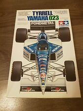 Tamiya 1/20 F1 Tyrrell Yamaha 023 Great Condition Very Rare