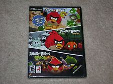 ANGRY BIRDS/ ANGRY BIRDS SEASONS/ ANGRY BIRDS SPACE...PC...***SEALED***BRAND NEW