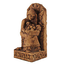 Seated Idunna Statue - Dryad Designs - Norse Goddess - Pagan Asatru Viking Wicca