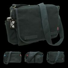 Tactical US Classic Military Messenger Bag Black Shoulder Bag Pack Rapdom R31