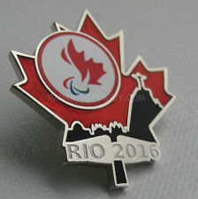 2016 Rio Summer Paralympic COC Dated Pin