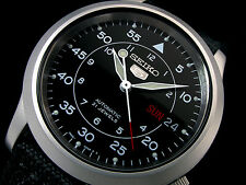 NEU AUTOMATIK SEIKO 5 - Military - ORIGINAL UHR NEW WATSCH