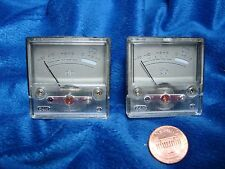 NEW Matched Pair VU Meters Backlit Ready