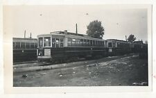 PSCT 2328 Newark Ave, Greenville Yards NJ New Jersey Reprint Trolley Photograph