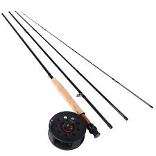 Fly Fishing Combos Trout Fly Fishing Pole and Reel Sea Spinning Fishing Rod Set