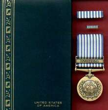 UN Korean War Service Award medal cased set with ribbon bar