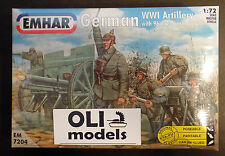 1/72 German WWI Artillery with 96 n/A 76 mm guns - EMHAR 7204