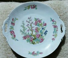 MZ Altrohlau CM-R Czechoslovakia Czech Handled Serving Plate, signed stamped 003