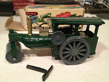 TRI-ANG MINIC STEAM ROLLER WIND-UP W/KEY EXCELLENT ORIGINAL W/BOX WORKS GREAT